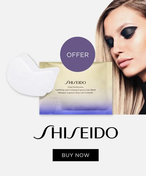 Shiseido | offer vital perfection express eye mask
