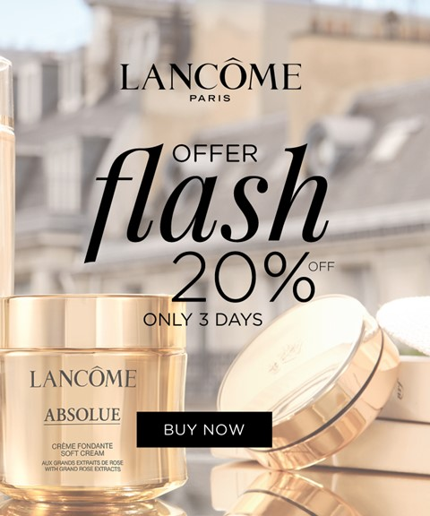 Lancôme | 20% off | anti-aging