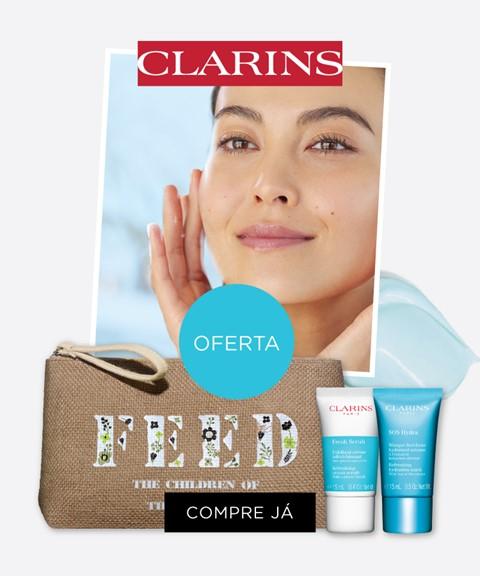 Clarins | oferta bolsa + 2 travel sizes