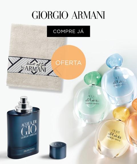 Giorgio armani | oferta | toalha de praia