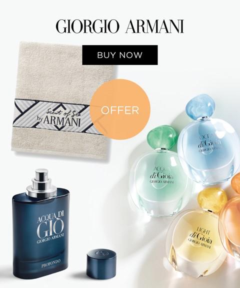 Giorgio armani | oferta | beach towel
