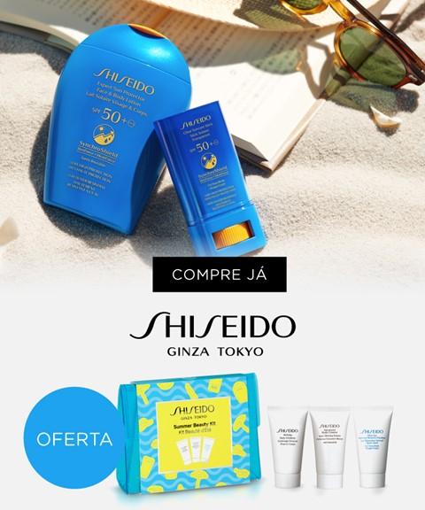 Shiseido | oferta | summer beauty kit