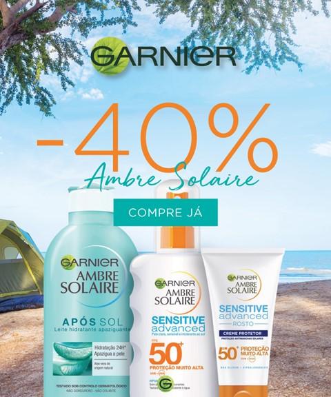 Garnier | -40% | ambre solaire