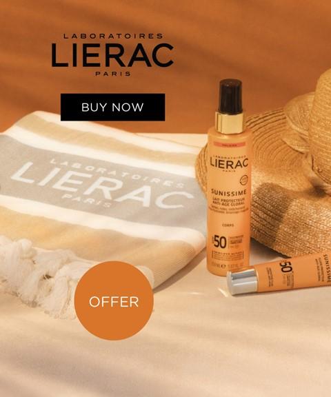 Lierac | offer beach towel