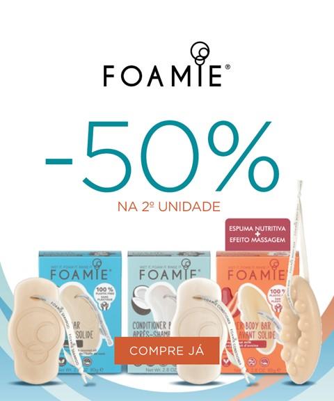 Foamie | -50% na 2ª unidade
