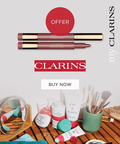 My clarins | offer | joli rouge crayon