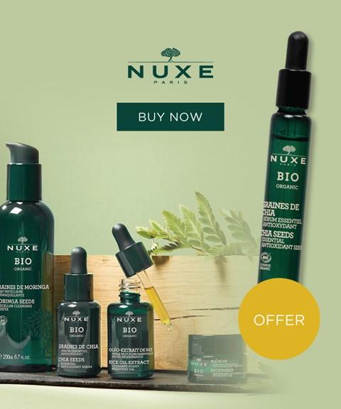 Nuxe   offer   bio organic