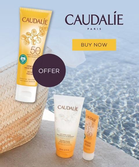 Caudalie   offer   facial sun cream