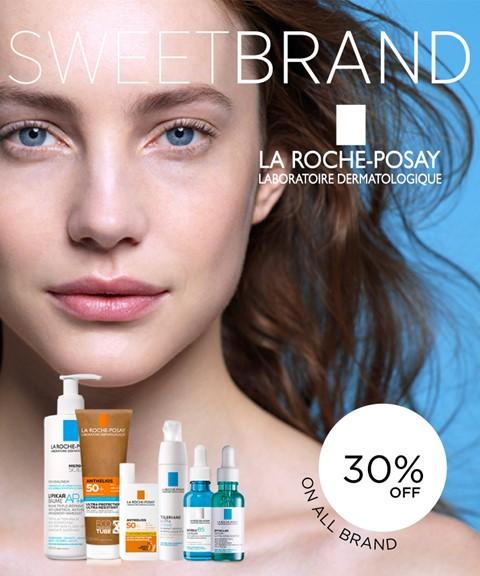 La roche posay   30% off   sweetbrand