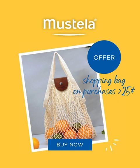 Mustela   offer   cotton net bag