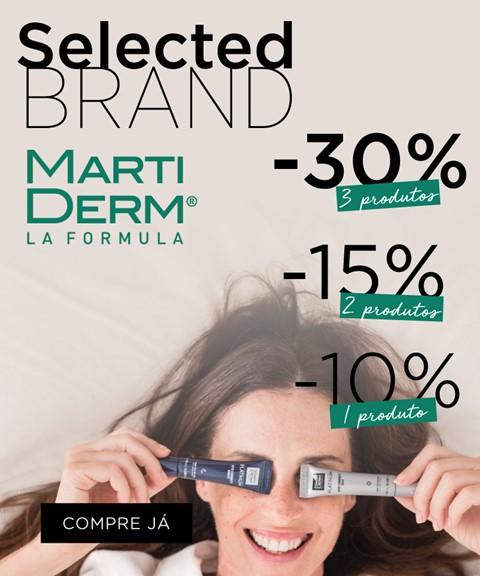 Martiderm | até -30% | selected brand