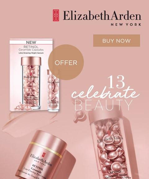 Elizabeth arden | offer | ceramide retinol