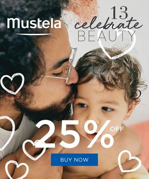 Mustela | 25% off | bath